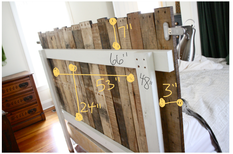 Diy pallet headboard rice designs for How to make a wood pallet headboard